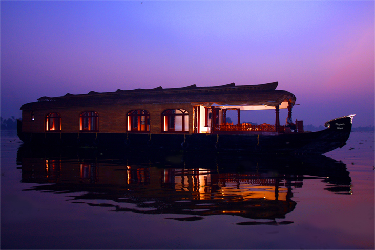night stay houseboat